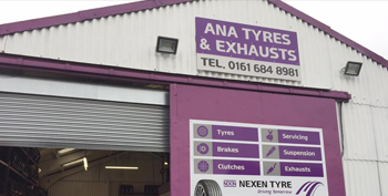 ANA Exhausts Manchester